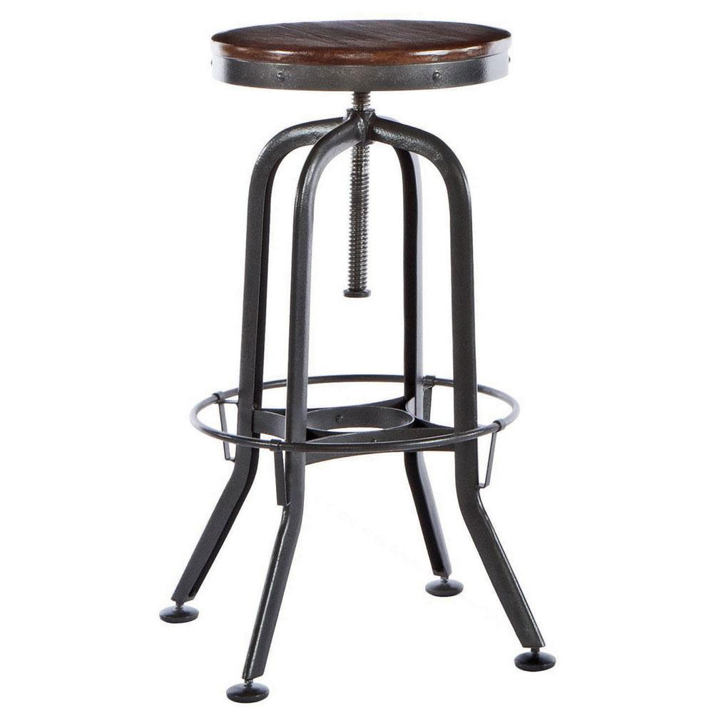 Hashleich vintage bar stool industrial strength with adjustable height by vint8892 bar stools tables